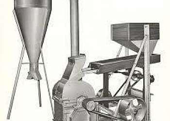 Moinho de farinha de mandioca