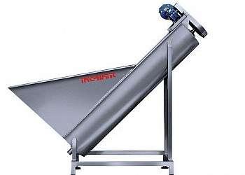 Rosca transportadora helicoidal flexível